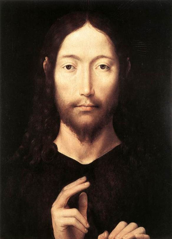 Christ_Giving_His_Blessing-Hans_Memling