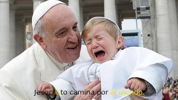 PaPa_Y_Nino_Jesucristo_camina_por_el_mundo